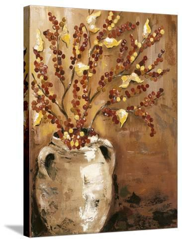Branches in Vase I-Jade Reynolds-Stretched Canvas Print