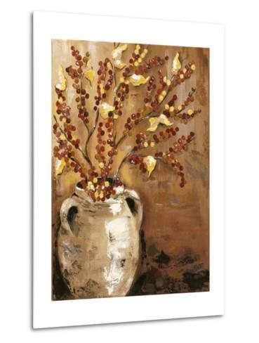 Branches in Vase I-Jade Reynolds-Metal Print