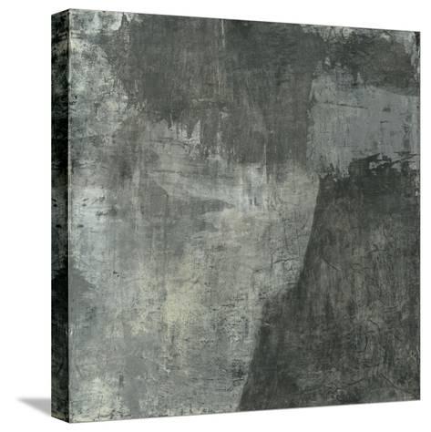 Gray Abstract I-Elena Ray-Stretched Canvas Print