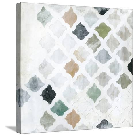 Turkish Tile I-Jodi Fuchs-Stretched Canvas Print