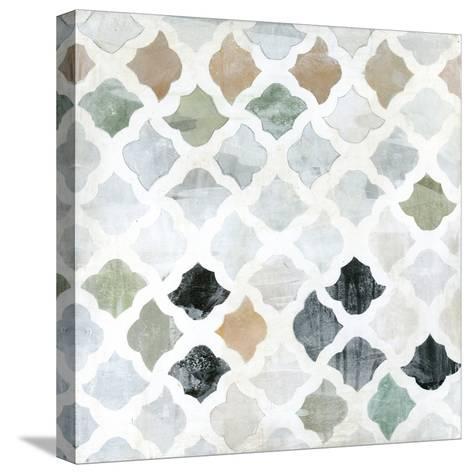 Turkish Tile II-Jodi Fuchs-Stretched Canvas Print