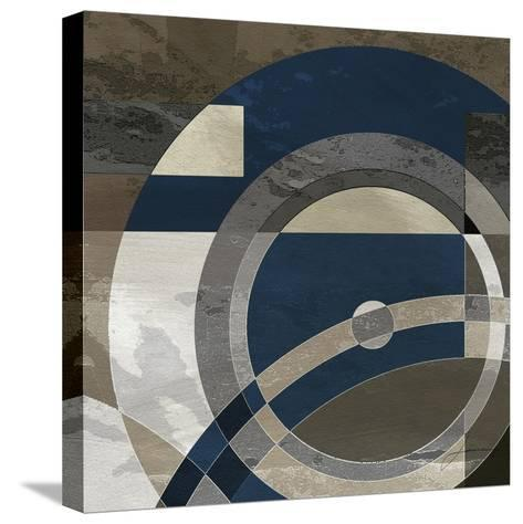 Concentric Squares II-James Burghardt-Stretched Canvas Print