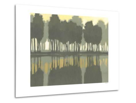 Lake at Dawn I-Norman Wyatt Jr^-Metal Print