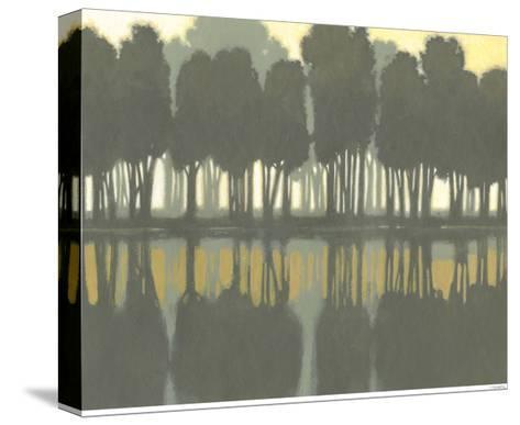 Lake at Dawn II-Norman Wyatt Jr^-Stretched Canvas Print