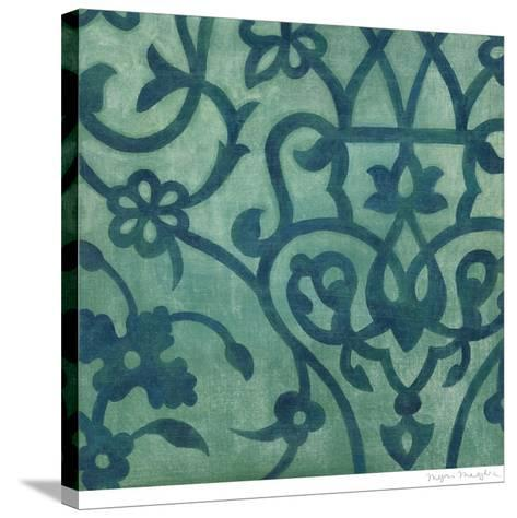 Persian Motif IV-Megan Meagher-Stretched Canvas Print