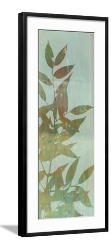 Leaf Overlay I-Jennifer Goldberger-Framed Art Print