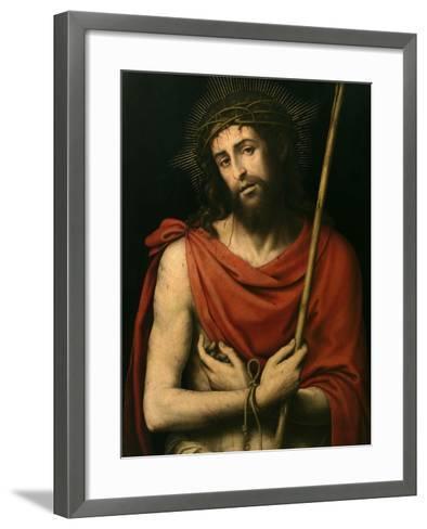Ecce Homo, Ca. 1570-Juan De juanes-Framed Art Print