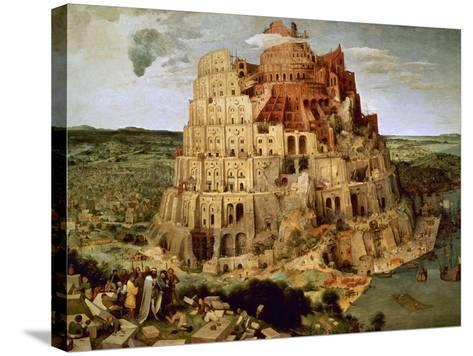 The Tower of Babel-Pieter Bruegel the Elder-Stretched Canvas Print