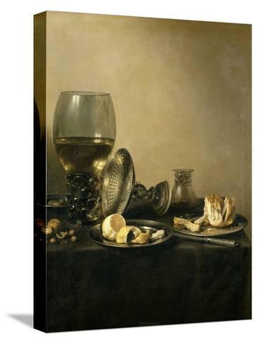 Still Life, 1637-Pieter Claesz-Stretched Canvas Print