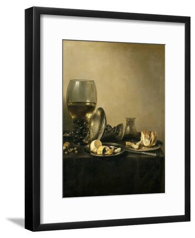 Still Life, 1637-Pieter Claesz-Framed Art Print