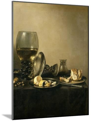 Still Life, 1637-Pieter Claesz-Mounted Giclee Print