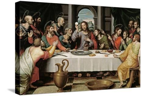 The Last Supper, Ca. 1562-Juan De juanes-Stretched Canvas Print