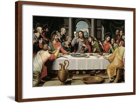 The Last Supper, Ca. 1562-Juan De juanes-Framed Art Print