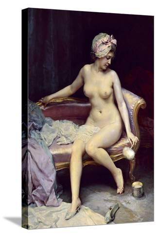 After the Bath, 1878-Raimundo Madrazo-Stretched Canvas Print