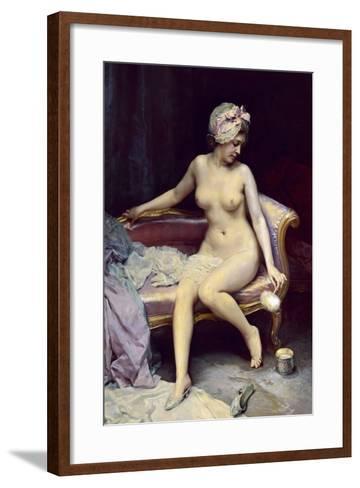 After the Bath, 1878-Raimundo Madrazo-Framed Art Print