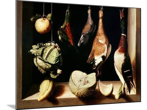 Still-Life with Game Fowl, 1600-1603-Juan Sanchez Cotan-Mounted Giclee Print