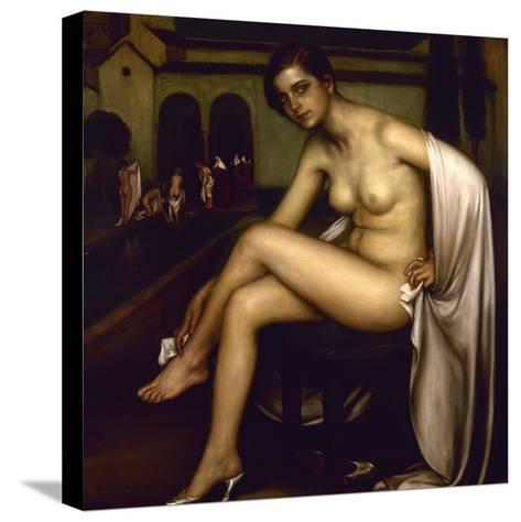 Nude-Julio Romero de Torres-Stretched Canvas Print