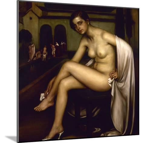 Nude-Julio Romero de Torres-Mounted Giclee Print