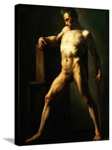 Study of a Man, 1808-1812-Th?odore G?ricault-Stretched Canvas Print
