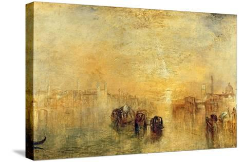Going to the Ball (San Martino), 1846-J^ M^ W^ Turner-Stretched Canvas Print