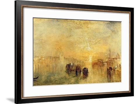 Going to the Ball (San Martino), 1846-J^ M^ W^ Turner-Framed Art Print