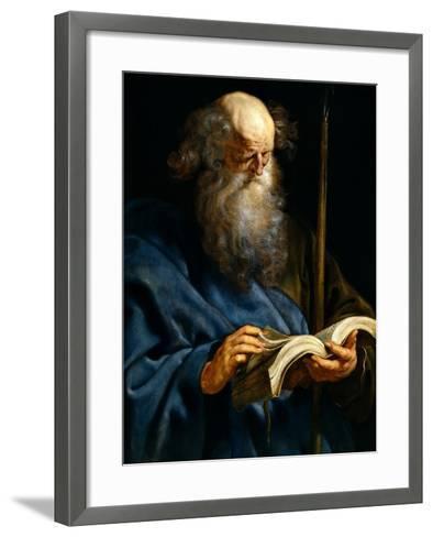 Saint Thomas, 1610-1612-Peter Paul Rubens-Framed Art Print