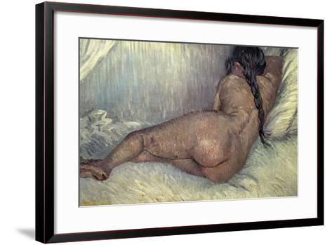 Dutch School. Naked Woman, 1887-Vincent van Gogh-Framed Art Print