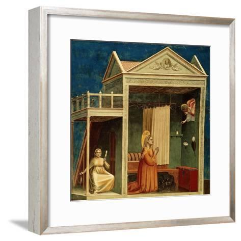 The Annunciation to Saint Anne, 1303-1310-Giotto di Bondone-Framed Art Print