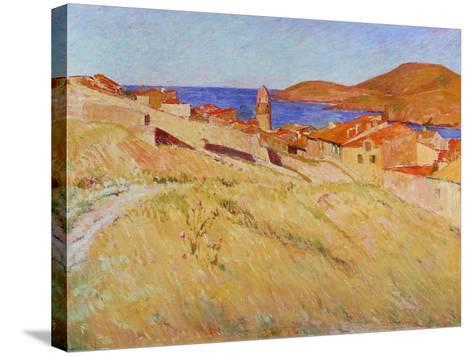 Landscape Near Collioure, 1866-1867-Georges-Daniel De Monfreid-Stretched Canvas Print
