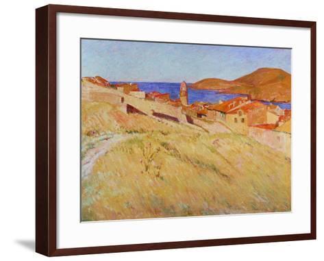 Landscape Near Collioure, 1866-1867-Georges-Daniel De Monfreid-Framed Art Print