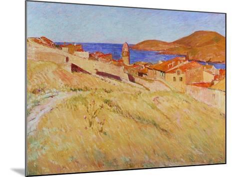 Landscape Near Collioure, 1866-1867-Georges-Daniel De Monfreid-Mounted Giclee Print