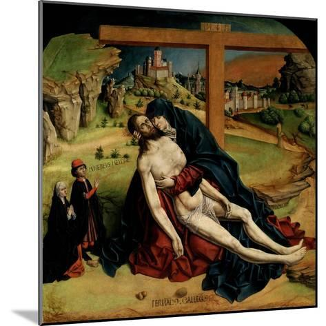 Pietà, 1465-1470-Fernando Gallego-Mounted Giclee Print