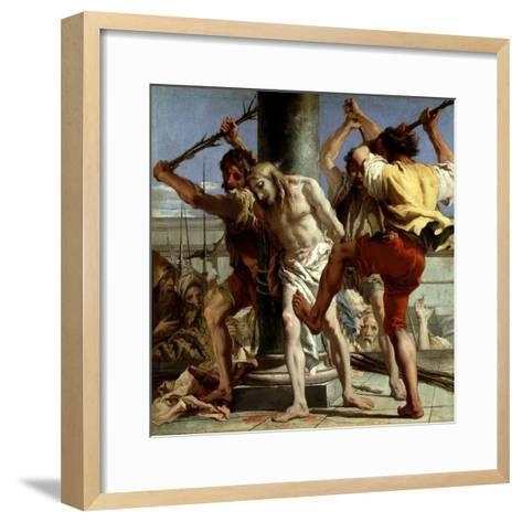 Cristo a La Columna, 1772-Giovanni Domenico Tiepolo-Framed Art Print