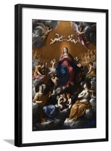 Assumption and Coronation of the Virgin, 1602-1603-Guido Reni-Framed Art Print