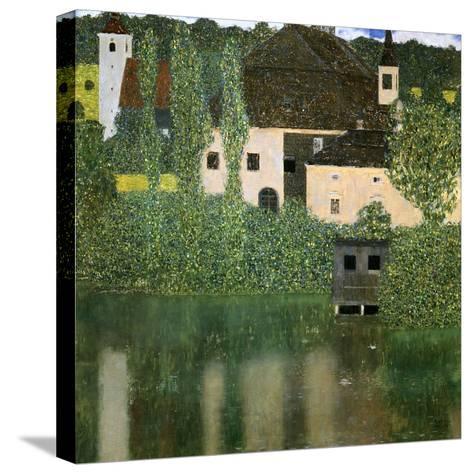 Water Castle, 1908-Gustav Klimt-Stretched Canvas Print