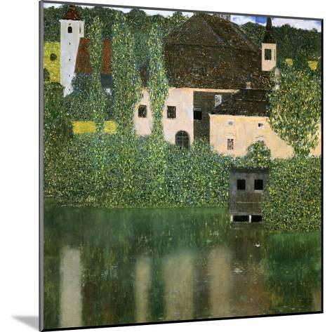 Water Castle, 1908-Gustav Klimt-Mounted Giclee Print