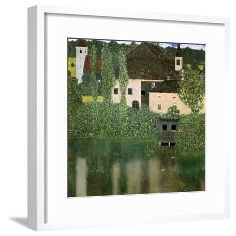 Water Castle, 1908-Gustav Klimt-Framed Art Print