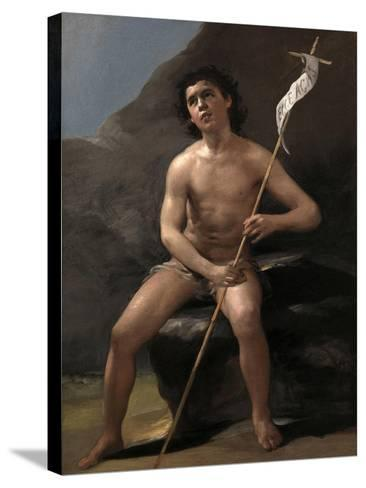 Saint John the Baptist as a Child in the Desert, Ca. 1810-Suzanne Valadon-Stretched Canvas Print