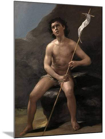 Saint John the Baptist as a Child in the Desert, Ca. 1810-Suzanne Valadon-Mounted Giclee Print