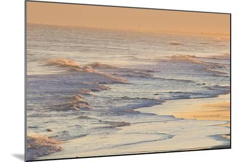 Water Patterns at Sunset-Brian Gordon Green-Mounted Photographic Print