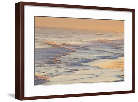 Water Patterns at Sunset-Brian Gordon Green-Framed Art Print