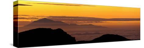 Sunrise from Atop La Palma Island-Babak Tafreshi-Stretched Canvas Print