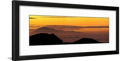 Sunrise from Atop La Palma Island-Babak Tafreshi-Framed Art Print