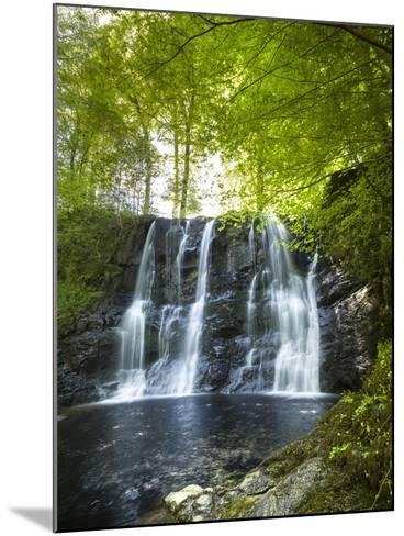 Glenariff Waterfall in County Antrim-Chris Hill-Mounted Photographic Print