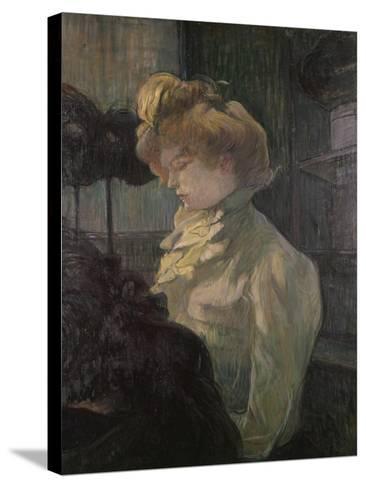 Milliner-Henri de Toulouse-Lautrec-Stretched Canvas Print
