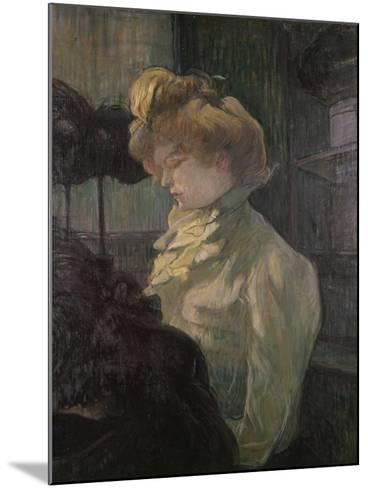 Milliner-Henri de Toulouse-Lautrec-Mounted Art Print