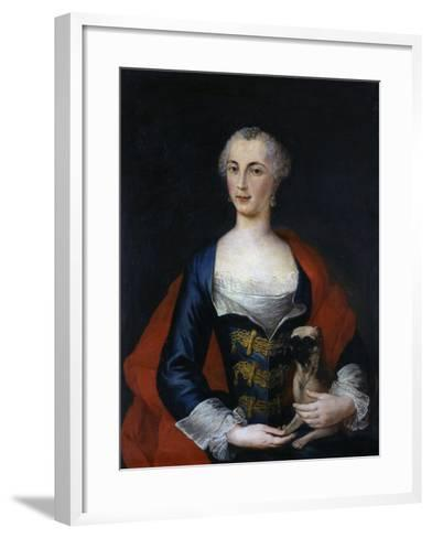 Marianna Rufino Di Diano, C.1750--Framed Art Print