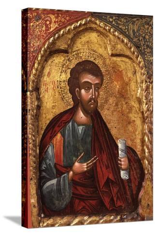 Apostle from Church of Saint Mary Vllaherna-Nicholas (Nikolla) Onufri-Stretched Canvas Print