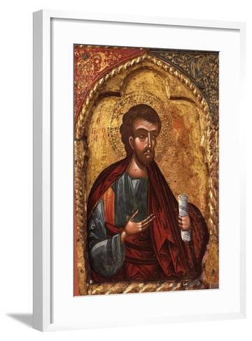 Apostle from Church of Saint Mary Vllaherna-Nicholas (Nikolla) Onufri-Framed Art Print