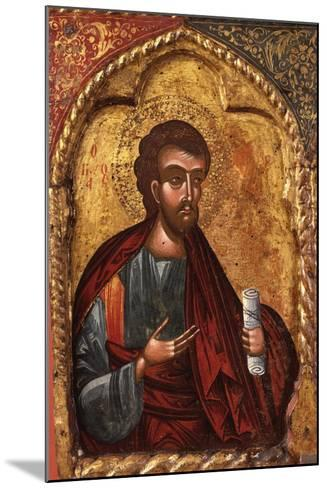 Apostle from Church of Saint Mary Vllaherna-Nicholas (Nikolla) Onufri-Mounted Art Print